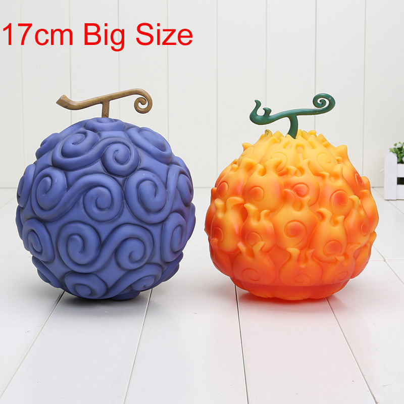 17cm One Piece Devil Fruit Ace Flame-Flame & Luffy Gum-Gum Action Figure PVC figures toys(China)