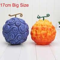 17cm une pièce diable Fruit Ace flamme-flamme et Luffy gomme figurine en PVC figurines jouets