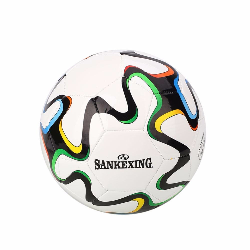 SAKEXING PU Soccer Ball Official Size 5 Football Ball Outdoor Sport Training Balls futbol bola Anti-Slip Soccer 66cm ball ...