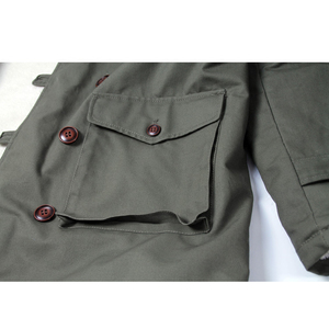 Image 5 - Deutsch Connie Großen Military Jacke M1909 Kampf Mantel Winter männer Armee Outwear