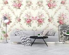 Beibehang 2019 обои для стен Индивидуальные Современные скандинавские абстрактные ручная роспись Пион цветок завод ТВ фоновые обои