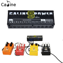 New Caline CP-05 Guitar Effect Pedal Power Supply Ten Isolated Outputs (9V, 12V, 18V) Voltage Protection Guitar Accessories