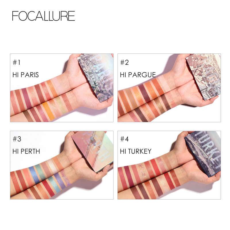 Focallure Nieuwe Go Reizen Oogschaduw Palet Glitter Poeder Professional Eye Make-Up 15 Kleuren Matte Oogschaduw Pallete