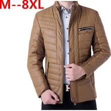 8XL 6XL7XL мужская chothing весна куртка мужчины пальто и пиджаки Ветровка Мужчин Высокое Качество теплые Куртки И Пальто куртка бесплатно поставка