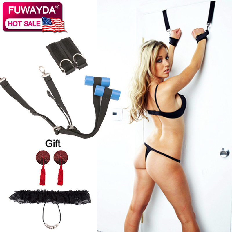 Free Shipping!!!Sex Love Flirt Erotic Aid Hanging Door Swing Adult Game Chair Sexual Toys Sex Furniture For Couple With Cushion
