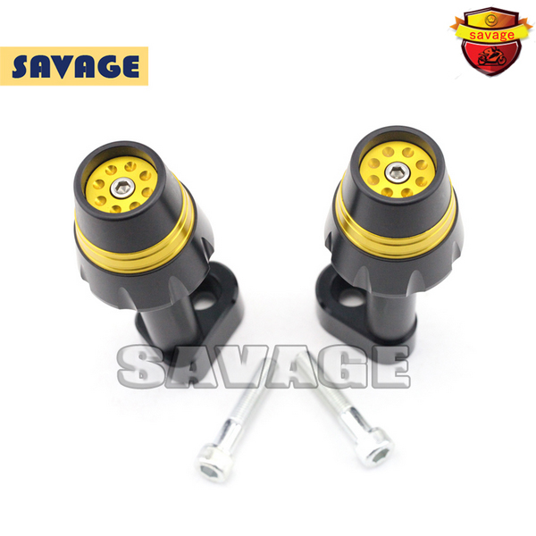 New Design Motorcycle Frame Sliders Crash Protector Falling Protection For YAMAHA YZF-R25 YZF-R3 14-15 Golden