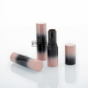 Gradient Pink Empty Lipstick Tubes DIY Lip Balm Tube Container Beauty Tool Durable Refillable Bottles F20172187