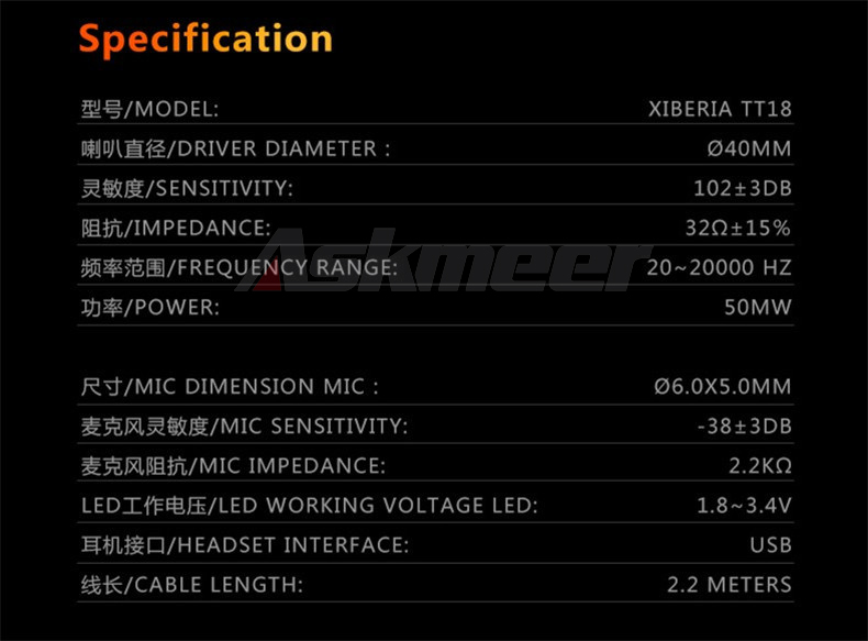 XIBERIA T18 Stereo Gaming Headphones with Microphone 7.1 Surround Sound Deep Bass Gamer Headset for Computer Best casque (22)