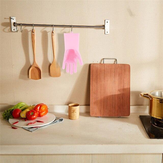 Food Grade Silicon Dish Washing Gloves 4