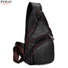 4831405dad5c VICUNA POLO Personalized Anti-theft Buckle Open Men Crossbody Bag Perfect  Quality Mens Sling Bag Luxury Brand Bag Men Chest Pack