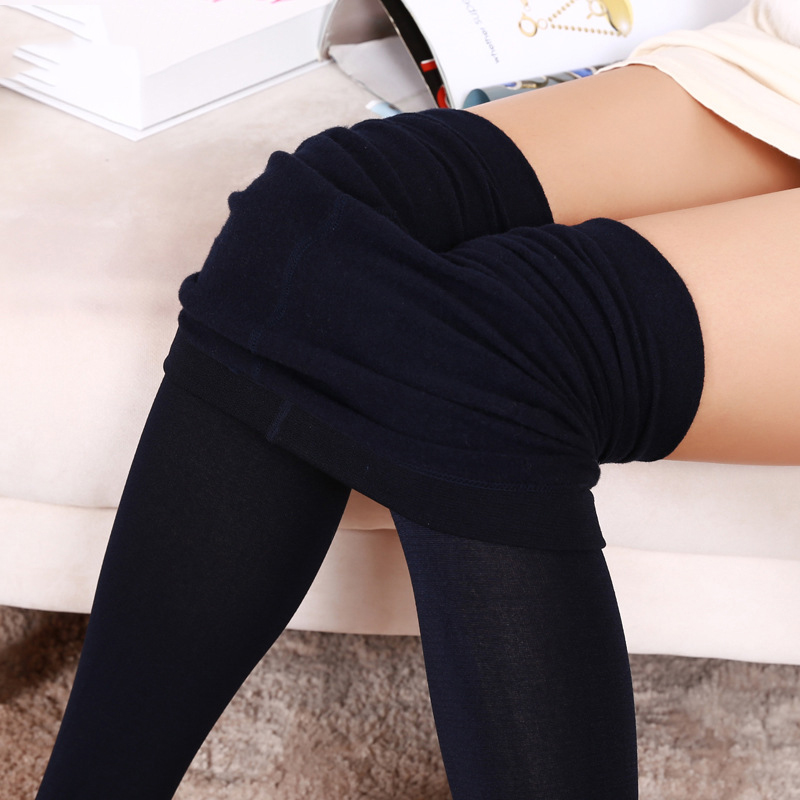1pcs Women Sexy Pantyhose Autumn Winter Warm Polyester Tights Girls Breathable Seamless Step on The Foot Stockings Collant Femme