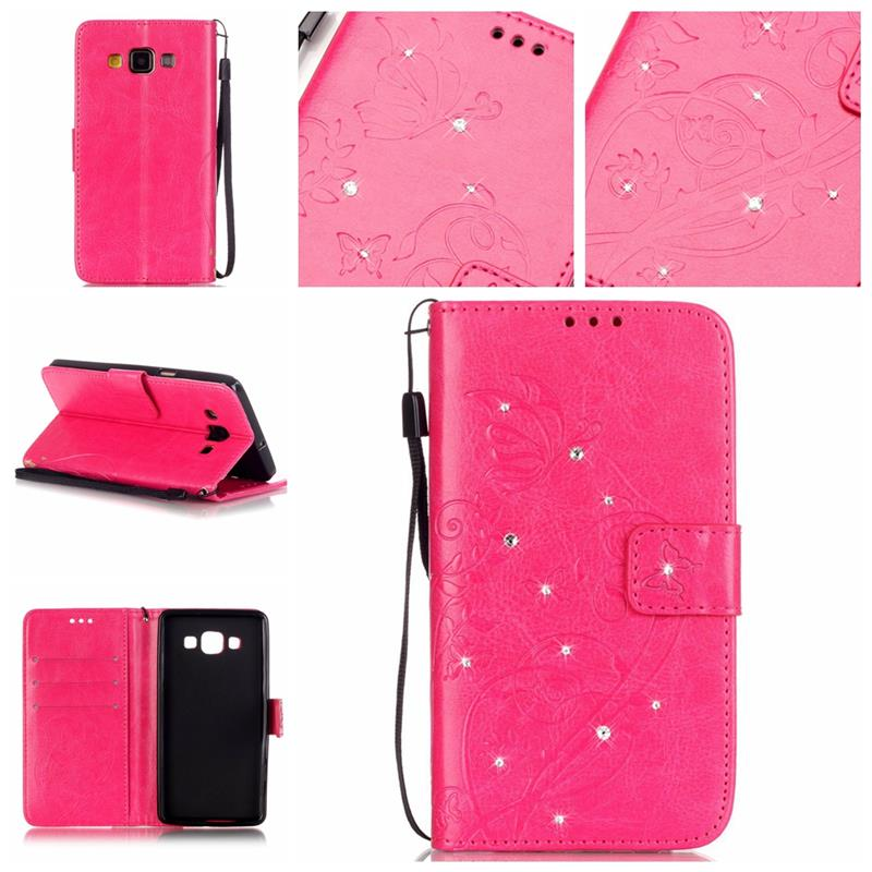 XSKEMP Luxury Wallet PU Leather Case For Samsung Galaxy A5 A5100 2016 A510F Anti-Explosion Phone Cover Shell With Tempered Glass