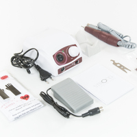 35K 40K STRONG 210 102L Micromotor Handpiece & STRONG 207B Control Box Electric Nail Drill Machine Manicure Drills Art Equipment