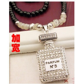 N515 New Wild Exaggeration Perfume Beaded Necklace