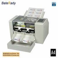 A4 Automatic business card slitter,High precision name card cutting machine, BateRady business card cutter CE photo paper cutter