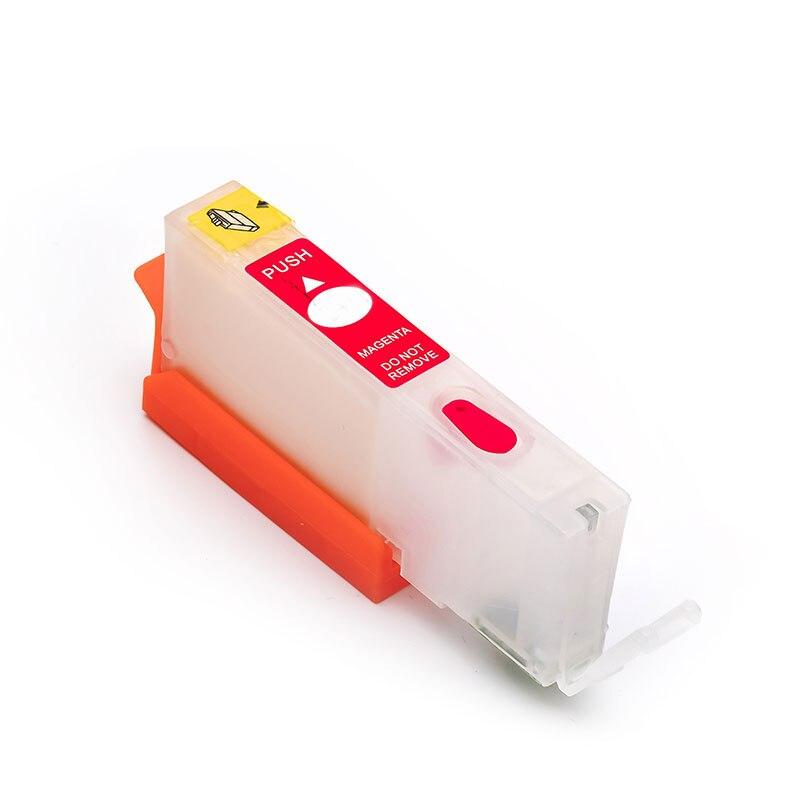 6pcs refillable PGI425 CLI425 Compitalbe for canon PGI-425 CLI-426 ink cartridge for canon PIXMA MG6140/MG8140 with chip
