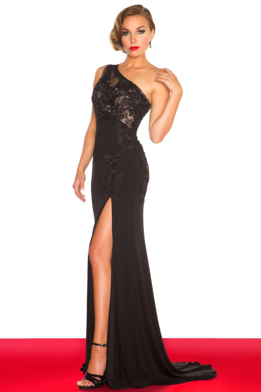 Black Evening Dresses Size 14