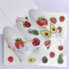Get more info on the FWC 1 PC Water Transfer Nail Stickers Decals Fruit/Sydney / Strawberry/Cake Pattern Nail Art Stickers Wraps Manicure Decoration