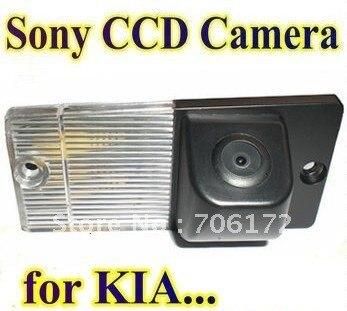 imágenes para Sony ccd especial del coche de visión trasera inversa cámara de reserva retrovisor de marcha atrás aparcamiento para kia sorento sportage