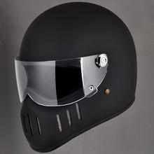 TT&CO Thompson Motorcycle Helmet Full Face casco moto Vintage Chopper  Retro capacete de motocicleta