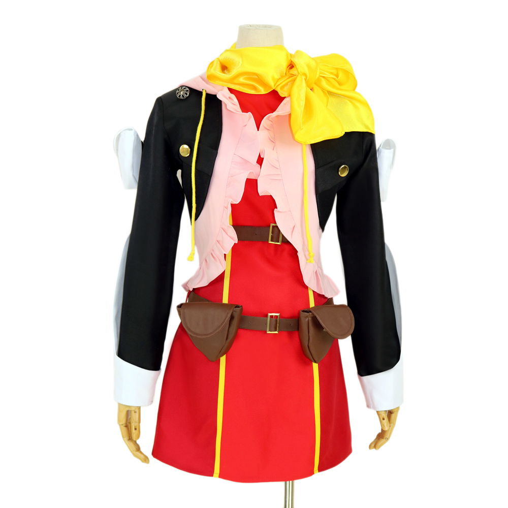Tales of Zestiria Rose Cosplay Costume custom any size :Free shipping