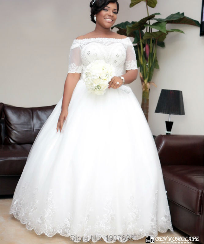 Plus Size Wedding Gowns With Jackets - Wedding Dresses Asian