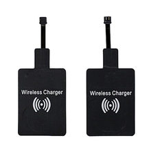 купить New Universal Qi Micro USB Wireless Charger Receiver Inductive Coil Receptor Module For Samsung LG HUAWEI Xiaomi Cell Phone дешево