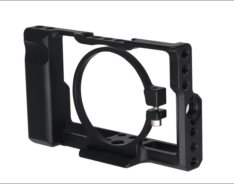 Kit de Cage de caméra en alliage d'aluminium RX100 pour Sony RX100 III IV V stabilisateur de caméra pour Sony RX100 M3 M4 M5 M6 cadre de caméra