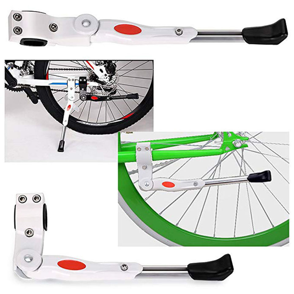 Aluminum Bicycle Bike Rack Foot Support Side Cycling Parking Kick Brace Stand US