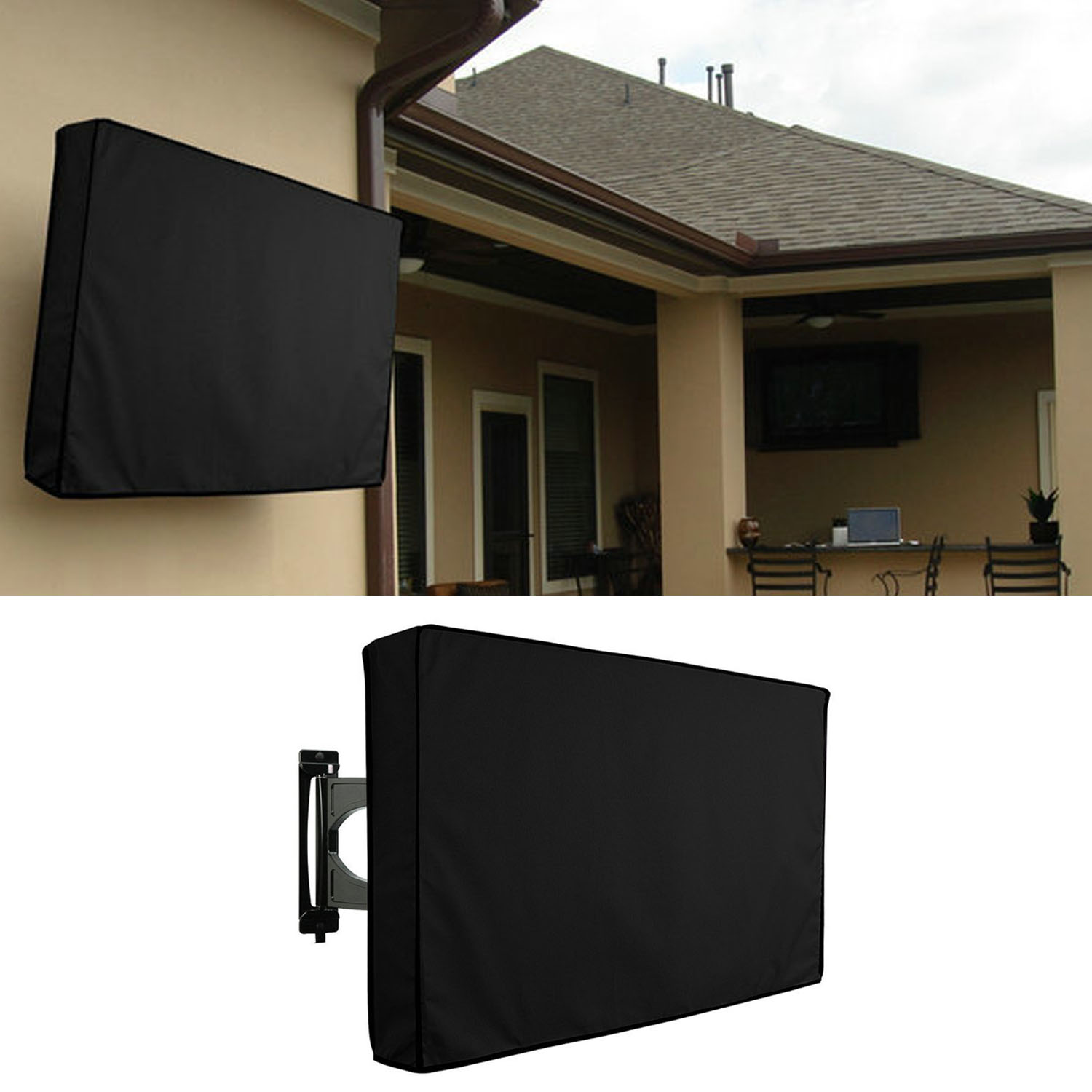 Outdoor Tv Cover Universal Waterproof Dustproof Oxford Cloth Led Hdtv Protector For 30 32 Inch Television