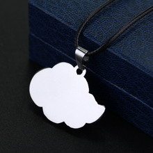 Anime Naruto Red Cloud Sign Pendant Necklace