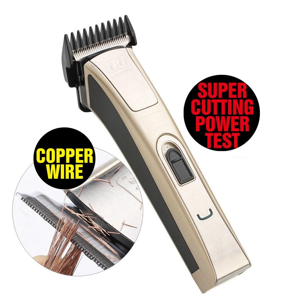KIKI Professional Electric Hair Clipper Rechargeable Hair Trimmer Hair Cutting Machine To Haircut Beard Trimer
