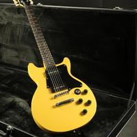 Top Quality Junior Electric Guitar Double Single P90 Pickups Yellow Color Free Shipping Cost