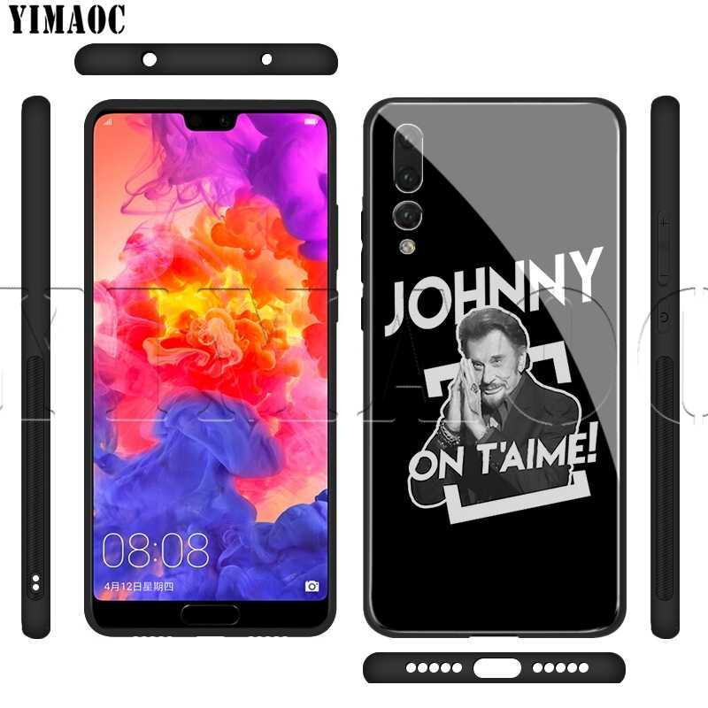 Yimaoc ジョニー hallyday ガラス huawei 社の名誉メイト 7A 8X 9 P10 20 30 Y6 Y9 1080p スマート lite プロ 2018 2019