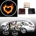 2PCS  Wireless Car  Shadow Door Light  Projector Logo Led Welcome Laser Projector Lamp Emblem Logo Lamps Heart Burn Universal