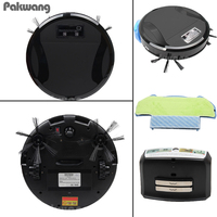 2017 Intelligent Wireless Robot Vacuum Cleaner Wet Dry House Clean Floor Robot Cleaner Auto Charge Wet