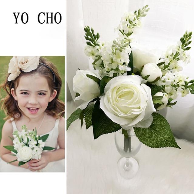 YO CHO Pfingstrose Blumen brautblumenstrauß Hand Blume Partei ...
