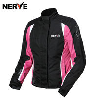 NERVE Motorcycle Jacket Women Motocross Racing Suits waterproof Mesh Riding Lady Clothes Wrestling riding suit jacket S 3XL