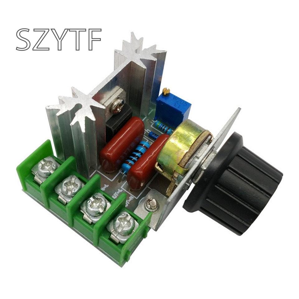 2000W AC 50-250V 25A Adjustable Motor Speed Controller Voltage Regulator B  OJ7