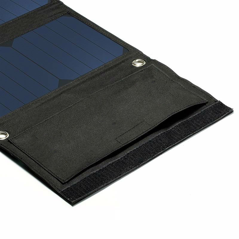 5V 22W High Efficiency Solar Panel Charger Fordable Dual USB Output Solar Cell Charger For Mobile Phone/Power Bank Free Shipping 5500mah solar charger 5v 0 8w beetle shaped phone mobile power bank