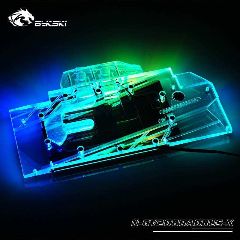 Bykski N GV2080AORUS X GPU Block for GIGA AORUS RTX2080 XTREME 8G