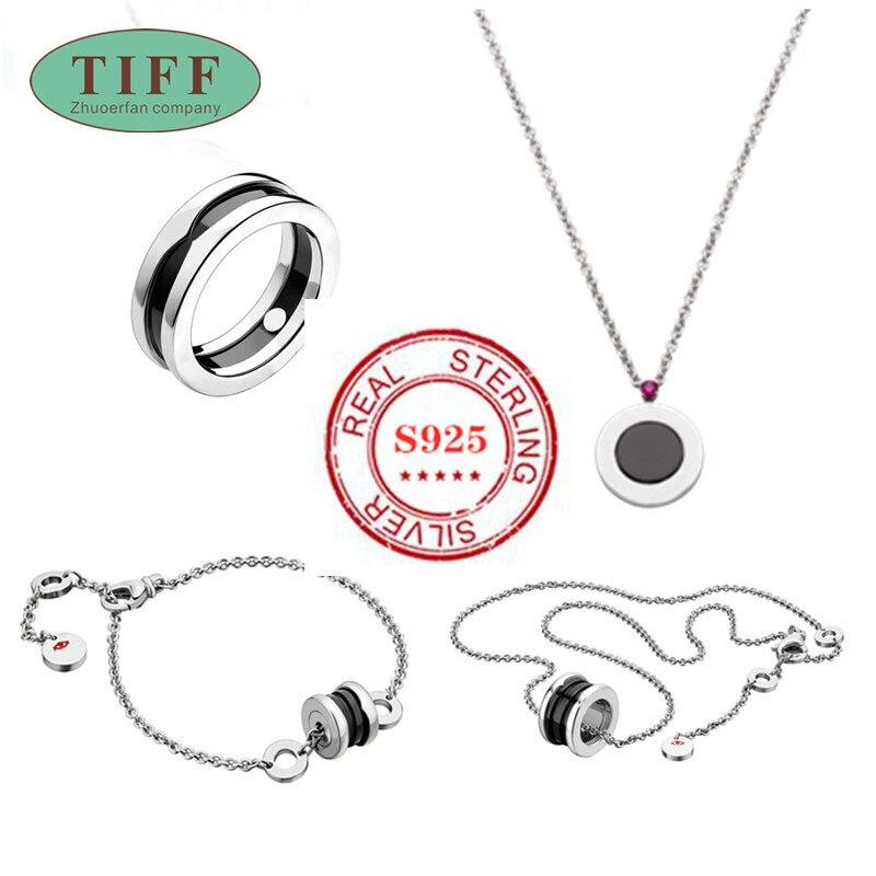 SO SEOUL Womens Diamond Simulant Cascading Round Earrings Necklace Set