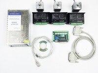 CNC Router Kit 3 Axis, 3 cái TB6600 4.0A stepper motor driver + 3 cái Nema17 0.44NM động cơ + 5 board interface axis + power cung cấp