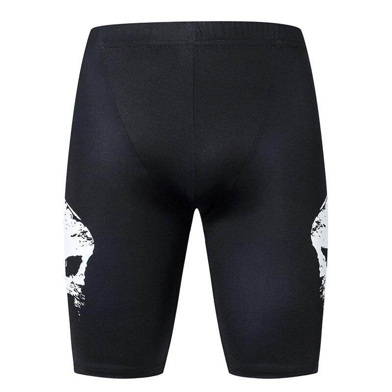 Superhero Male Compression   Shorts     board     shorts   Masculine   Short   Pants Quick-drying beach fitness swimwear men