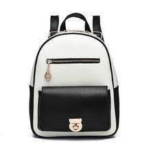 Винтаж Дамские туфли из PU искусственной кожи стильный рюкзак леди небольшая сумка многофункциональный девушка рюкзак для школы Шоппинг Путешествия знакомства