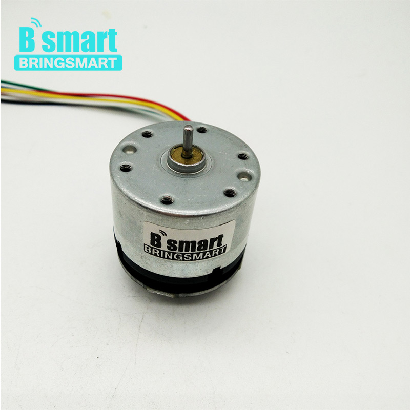 Bringsmart RK-520B 12V DC Motor Carbon Brush with Encoder 10000rpm High Speed Motor Code Disk High Precision good quality carbon rk 20