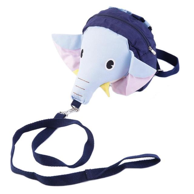 Cute Animal Elephant Moms Helper Baby Toddler Walking Assistant Safety Harness Kids Keeper Anti Lost Strap Adjustable Hot!