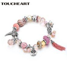 Toucheart новый дизайн ручной работы diy Шарм браслет для Модные