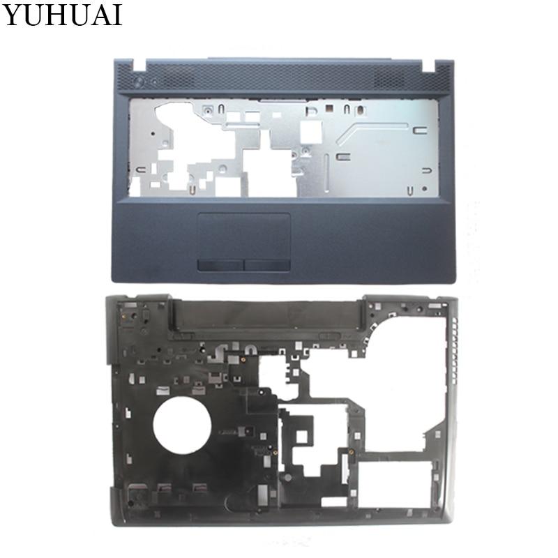 New for Lenovo G500 G505 G510 G590  Laptop Front Cover C COVER Palmrest COVER / Laptop Bottom Base Case Cover
