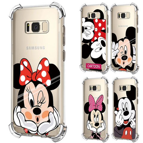 Cartoon Pattern Covers For Samsung Galaxy A50 A60 A9 A20e A30 A40 Note 8 9 S8 S9 S10 S10e S7 Edge A6 A7 A8 Plus J8 Airbag Cases Pakistan